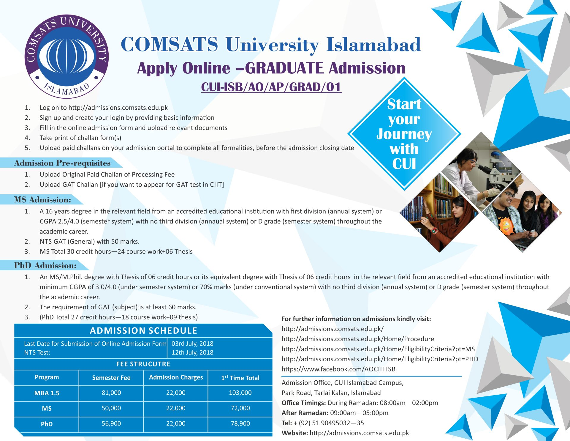 Excellent Islamabad Campus Best Image Libraries Weasiibadanjobscom